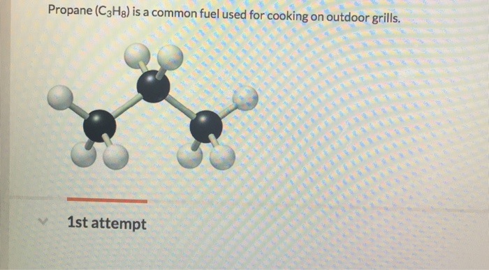 Propane C3h8 Is A Common Fuel Used For Cooking On Outdoor Grills 1st