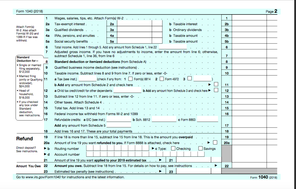 Solved: FILL OUT 1040 FORM Reba Dixon Is A Fifth-grade Sch