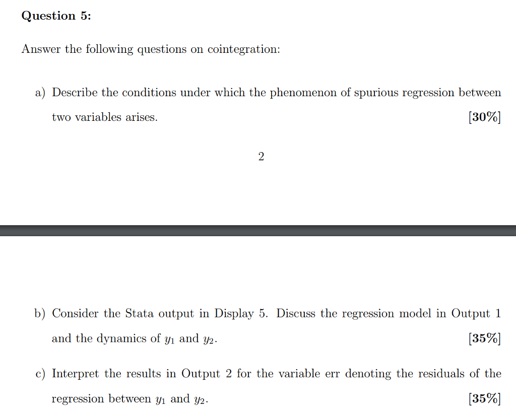 Solved: Question 4: Answer The Following Questions On Vect