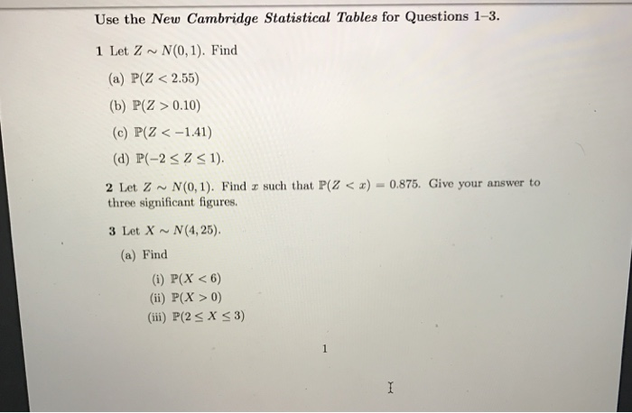 questions on elementary statistics