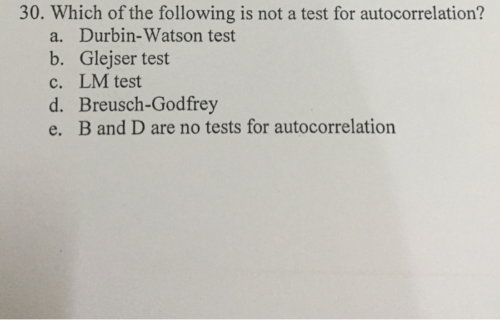 test c vs test e