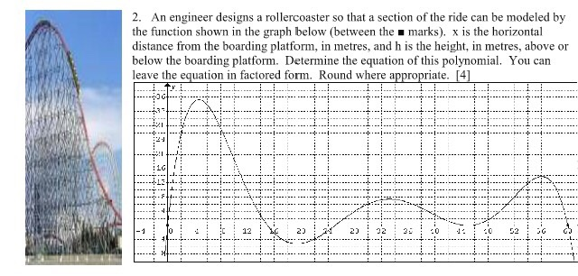 2 An Engineer Designs A Rollercoaster So That A S Chegg Com
