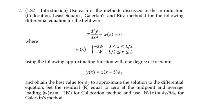Solved: 1. Using The Matrix Fo...