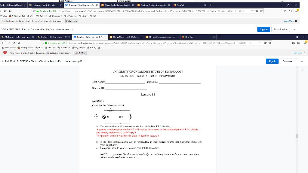 Solved:   It de-Differertial Fquit X   6 İ Kturr   Chegg com