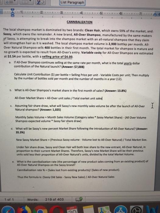 paragraph on a fair