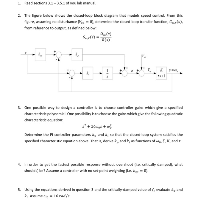 Solved  1  Read Sections 3 1
