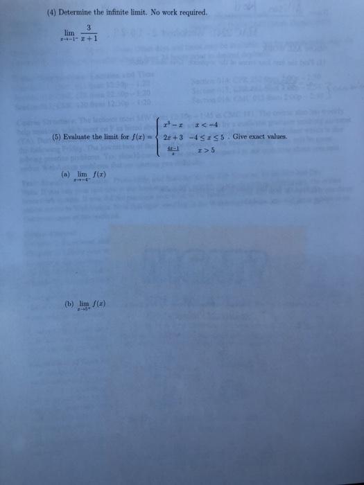 Solved: MAC 2241: Worksheet 2-1 6-2 3 SHOW ALL WORK (1) Fi
