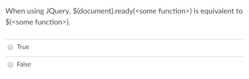 Solved: When Using JQuery, $(document)ready() Is Equivalen