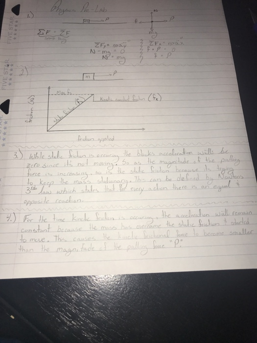 Solved: Can Someone Please Check Over My Answers And Let M