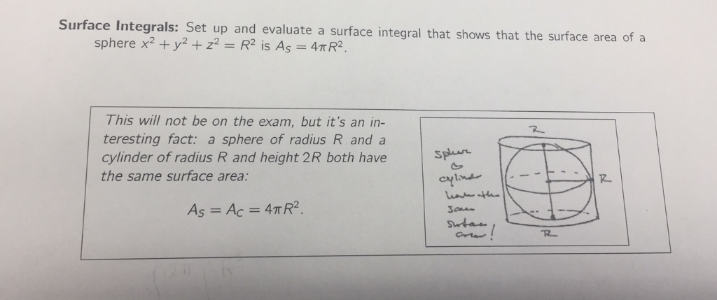 Solved: Surface Integrals: Set Up And Evaluate A Surface I