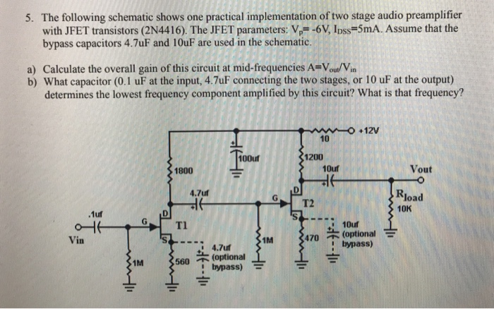 solved 5 the following schematic shows one practical imp rh chegg com