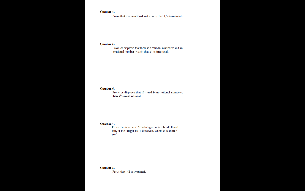 Solved: Discrete Mathematics: Supplement Exercises Workshe ...