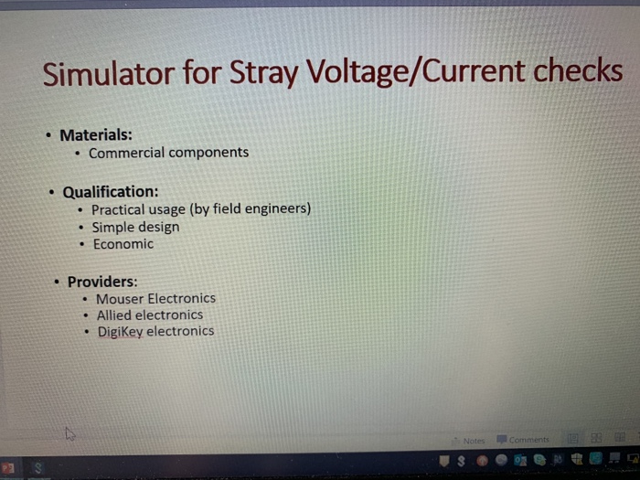 Solved: Font Styles Paragraph Drawing Stray Voltage Simula