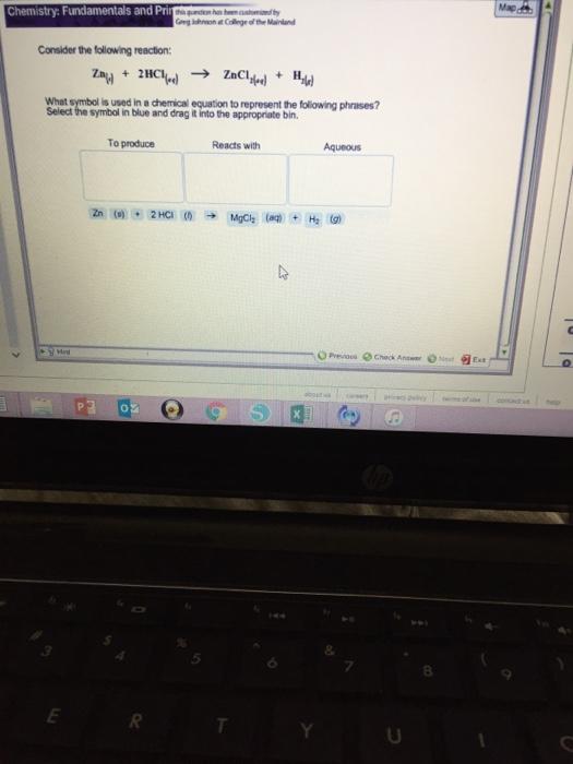 Solved Map Chemistry Fundamentals And Pri Gng Ishnsoh At