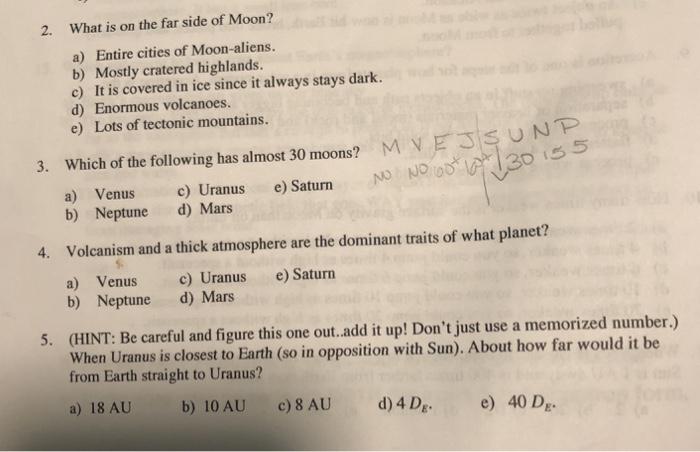 Uranus Dominant Traits