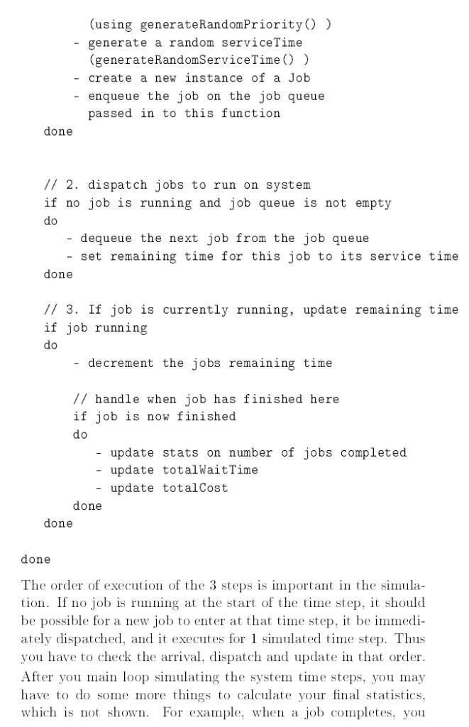 description Assignment 11 Priority Queues And S    | Chegg com