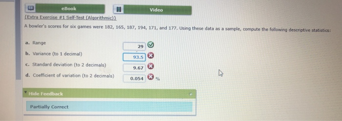 Statistics and probability archive january 31 2018 chegg 1 answer ebook video a bowlers scores for six games were 182 165 187 194 fandeluxe Image collections