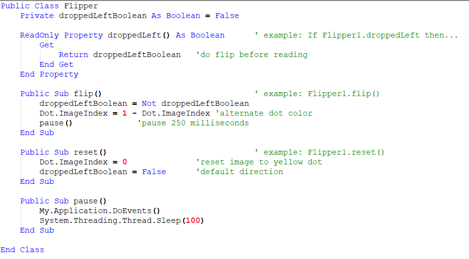 Vb6 doevents example