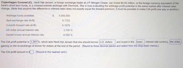 Heidi Hoi Jensen A Foreign Exchange Trader At J P
