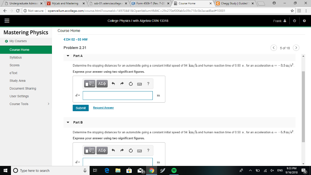 Solved: Undergraduste Admissi X V MyLab And Mastering Sb-0