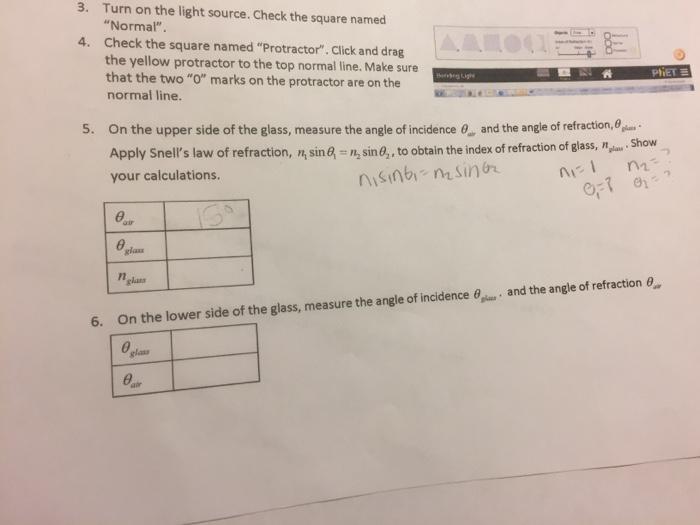 Solved: Https://phet.colorado.edu/en/simulation/bending-li ...