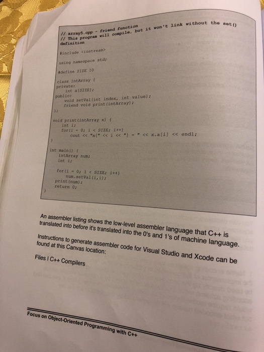 Solved: Need Help In C++ Please And Thank You Need To Help