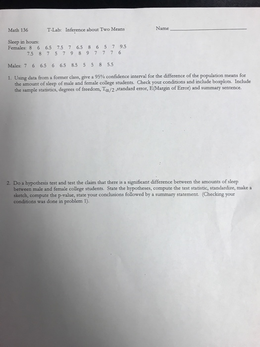 what does summary statement mean
