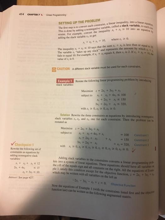 Solved: 7 4 △ The Simplex Method: Maximization 7 4 The Sim