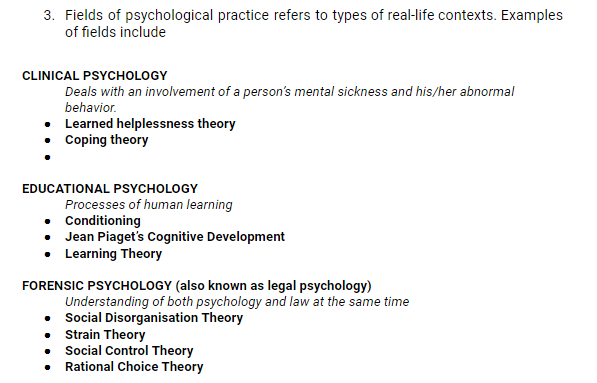 legal psychology examples