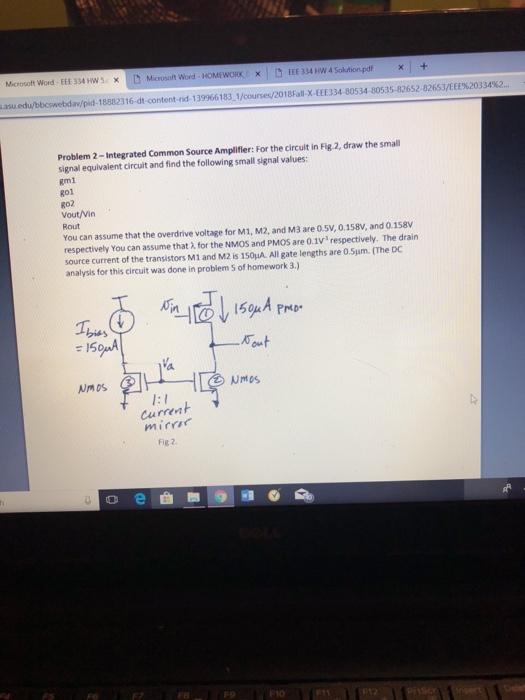 Solved: Microsoft Word-EEE 334 HW 5Microsoft Word HOMEWORK