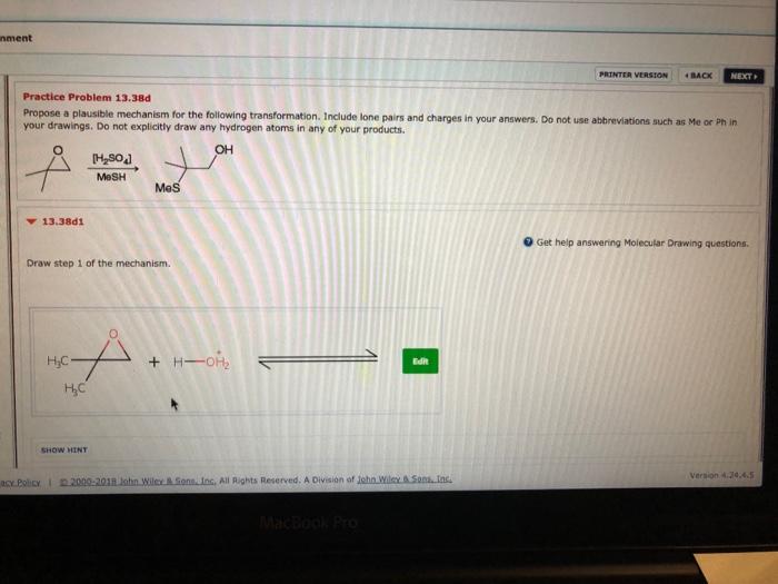 5d2f5bd338c0 Solved: Nment PRINTER VERSION BACK NEXT Practice Problem 1 ...