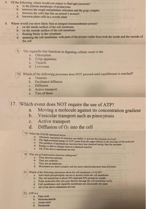 cell transport- membrane | Cell Structure Quiz - Quizizz
