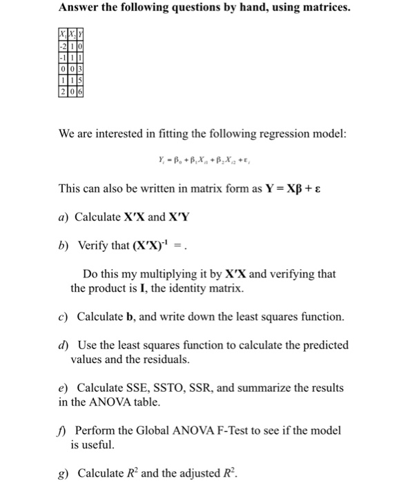 437881d85a Answer the following questions by hand, using matrices -100 105 2 06 We are