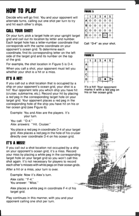 Battleship Game Java Project Specification For R Chegg Com