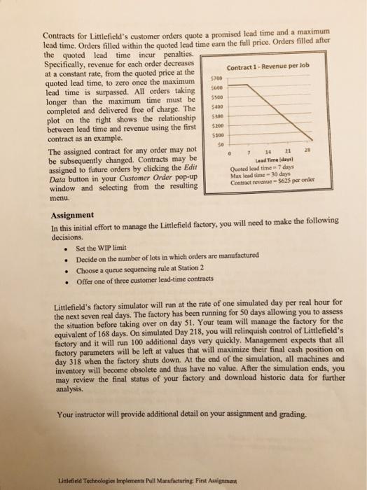 littlefield technologies tips