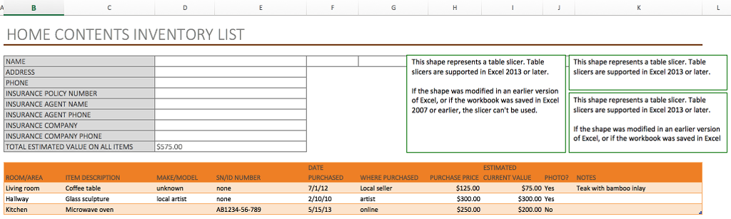 Total the data in an Excel table - Office Support