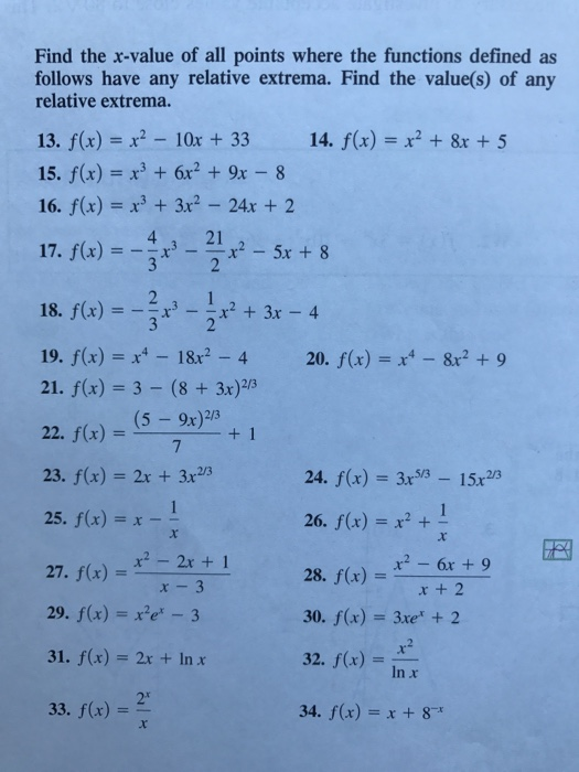 9fb7a18ea86 Find the x-value of all points where the functions defined as follows have  any