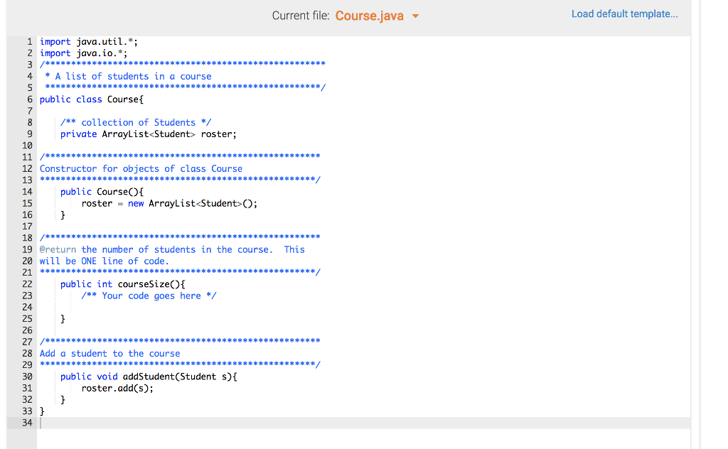 Solved: #1) Class For #1) Missing Top Is (import Java text