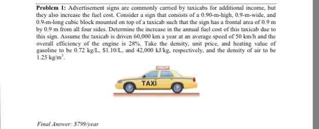 Solved: Advertisement Signs Are Commonly Earned By Taxicab