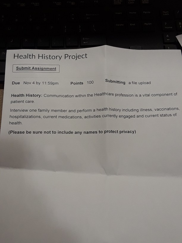 healthcare project names