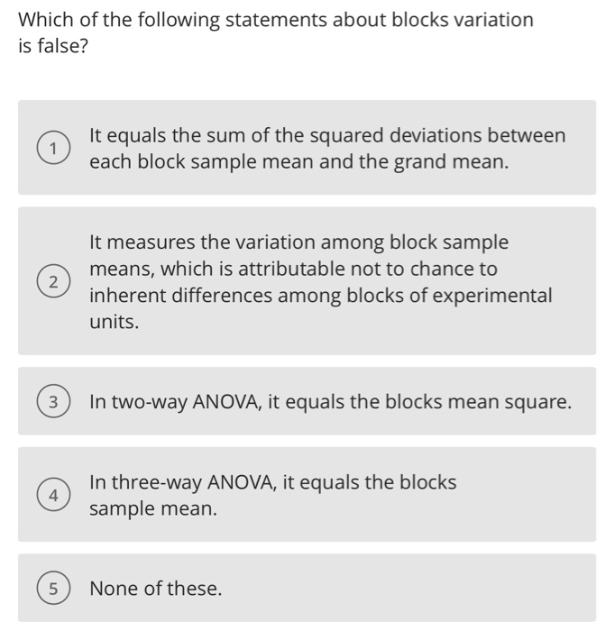 solved which of the following statements about blocks var