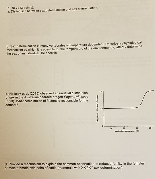 temperature dependent sex determination mechanisms in Калгурли-Боулдер
