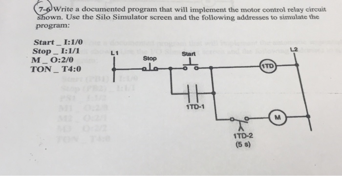 Relay Wiring For Motor Control Wiring Diagram