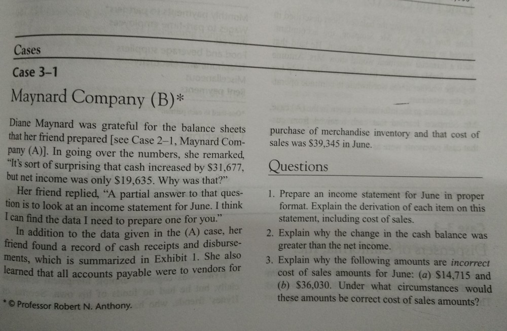 "case 3 1 maynard company b Lesson : 1 meaning, characteristics and types of a company structure 10 objective 11 introduction  12 meaning of company section 3 (1) (i) of the companies act, 1956 defines a company as ""a company  in each case the company is a separate legal entity."