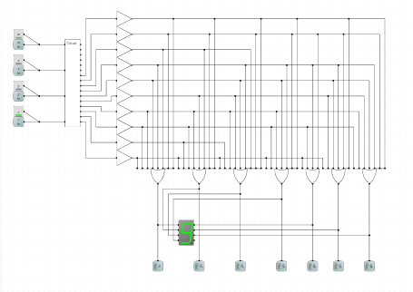 solved write a verilog description of your logic circuitwrite a verilog description of your logic circuit (you don\u0027t need to worry about the buttons or seven segment display, just model the inputs and outputs