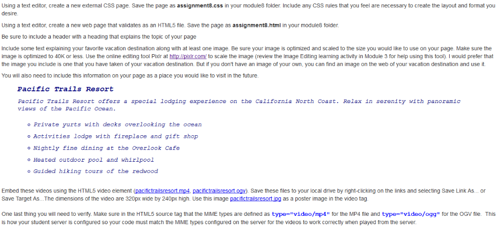 Using A Text Editor, Create A New External CSS Pag    | Chegg com