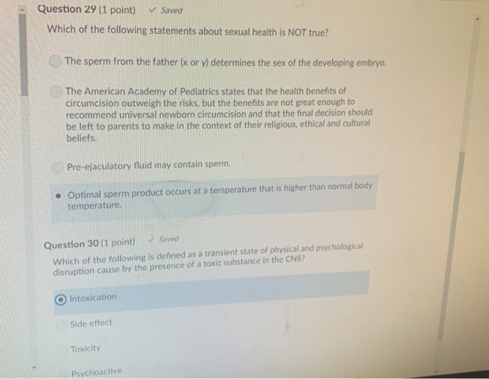 Solved: Question 15 (1 Point) Saved According To The Video