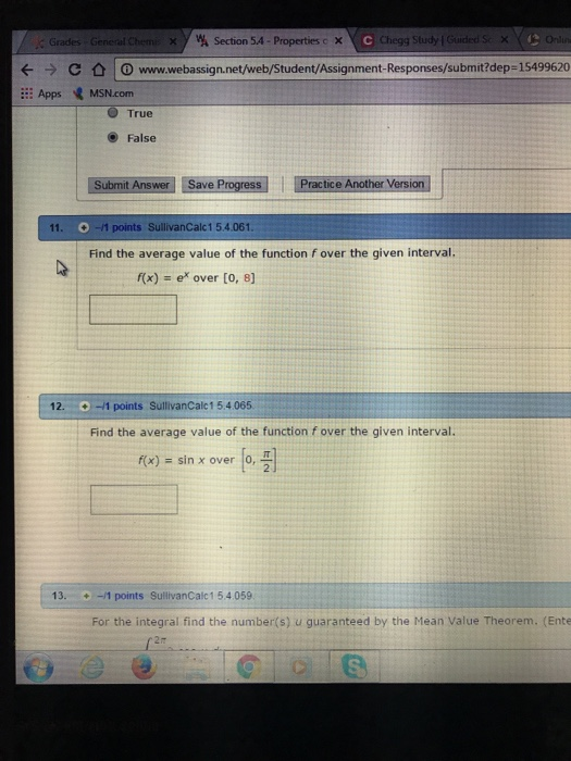 Solved: Grades General Chem X Y W Section 5A-Properties C
