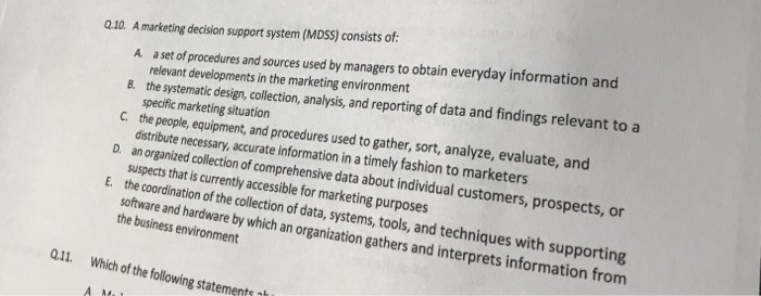 relevant sources of information