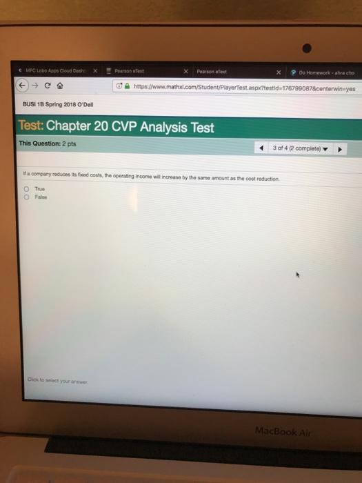 Solved C Mpc Lobo Apps Cloud Dashx Pearson Ee Pearson Ete